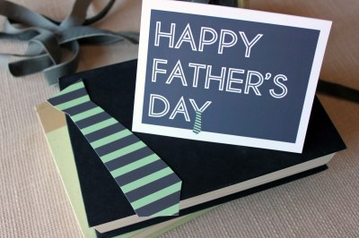 Free Father's Day card | just add ginger