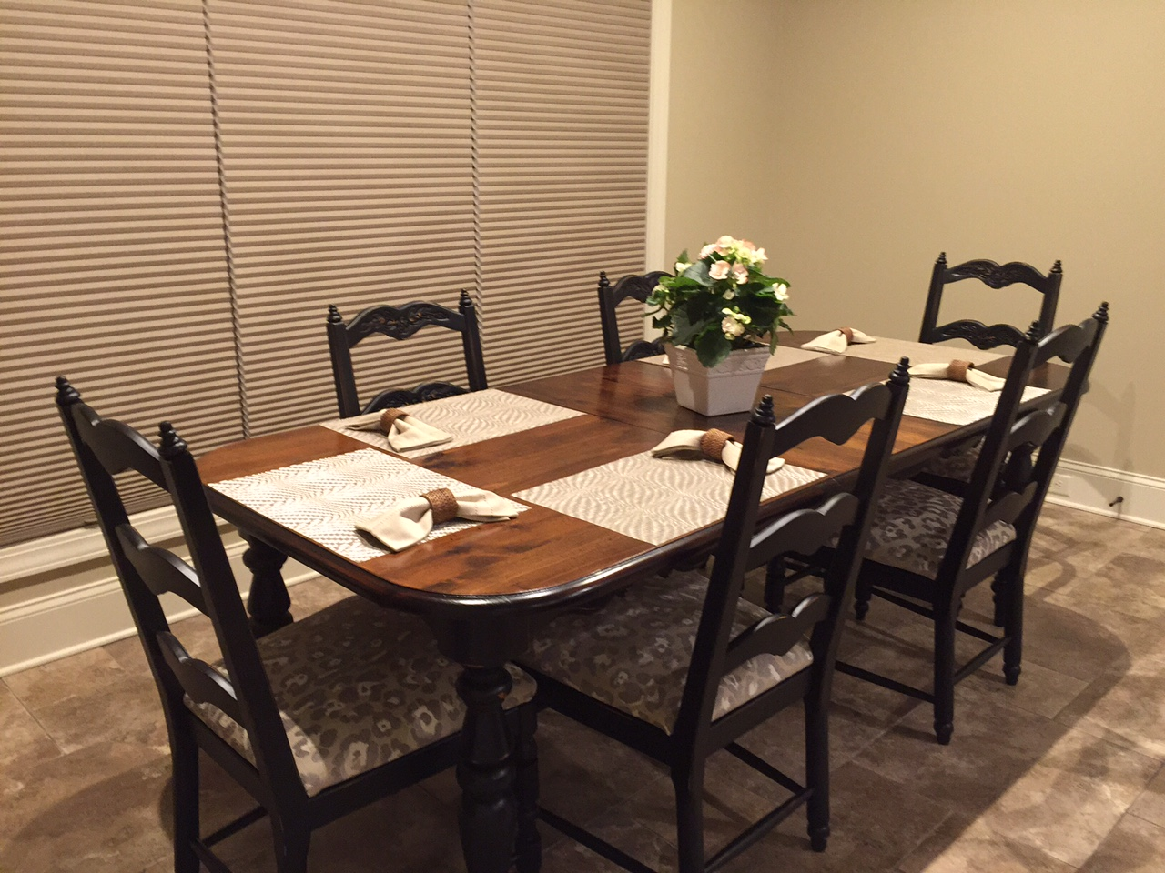paged 2 refinishing kitchen table REFINISHED DINING TABLE AND CHAIR SET