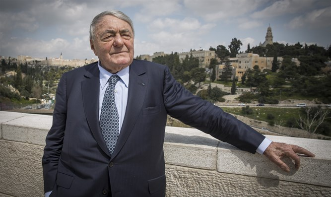 Director Claude Lanzmann dies at age 92   Israel National News Claude Lanzmann at Begin Heritage Center in Jerusalem