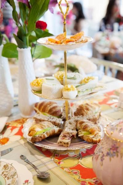 Kara's Party Ideas Garden Tea Party Bridal Shower   Kara's ...
