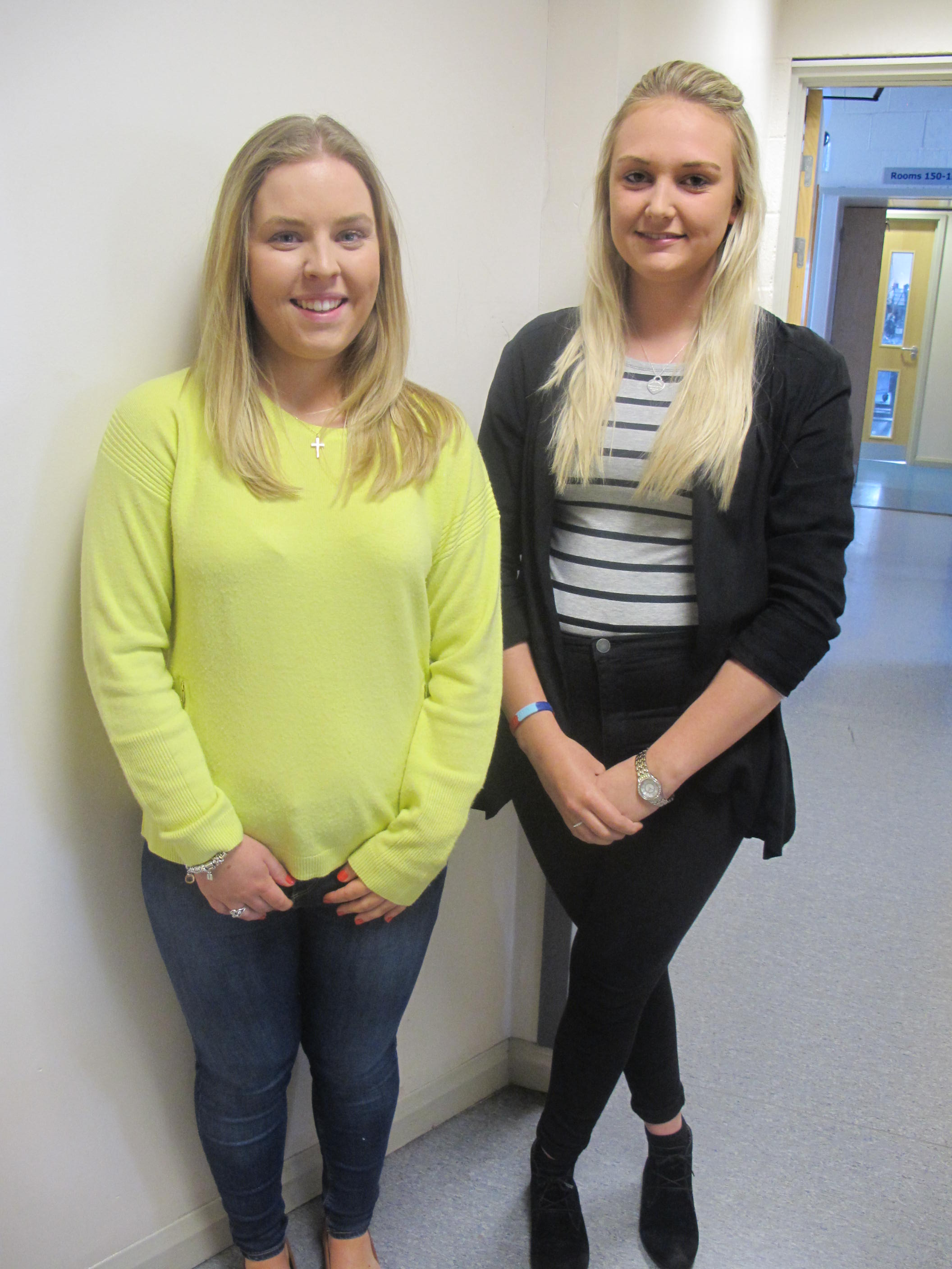 Mollie Breakwell & Jordan Priest (Health and Social Care)
