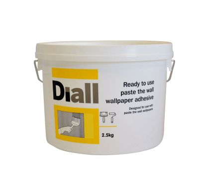 Diall Paste the wall Ready to use Wallpaper adhesive 2.5kg | Departments | DIY at B&Q