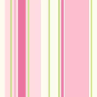 Holden Décor Paige Green & Pink Striped Wallpaper | Departments | DIY at B&Q