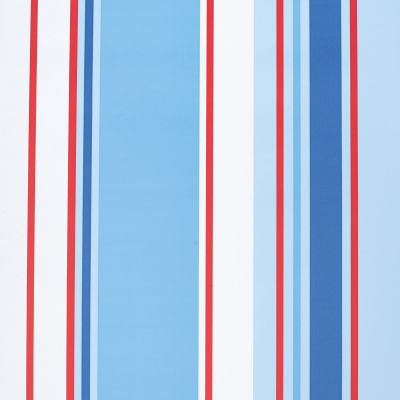 Holden Décor Paige Blue, Red & White Striped Wallpaper | Departments | DIY at B&Q
