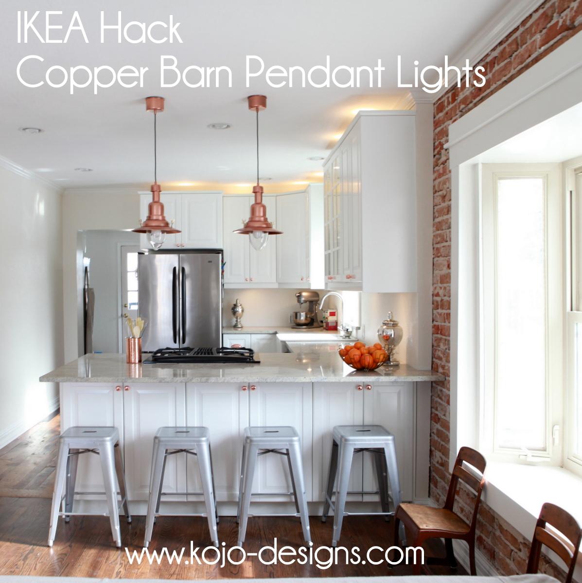 copper barn light ikea hack copper pendant light kitchen