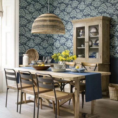Dining room wallpaper ideas – Dining room with wallpaper