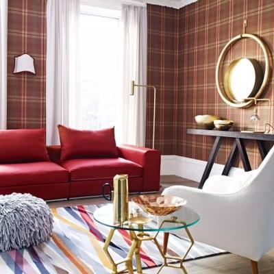 Tartan decorating ideas | Ideal Home