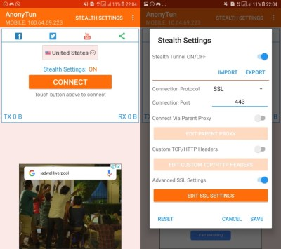 Download Anonytun PRO Apk Terbaru 2019 MOD Unlimited PRO - KuotaReguler.com