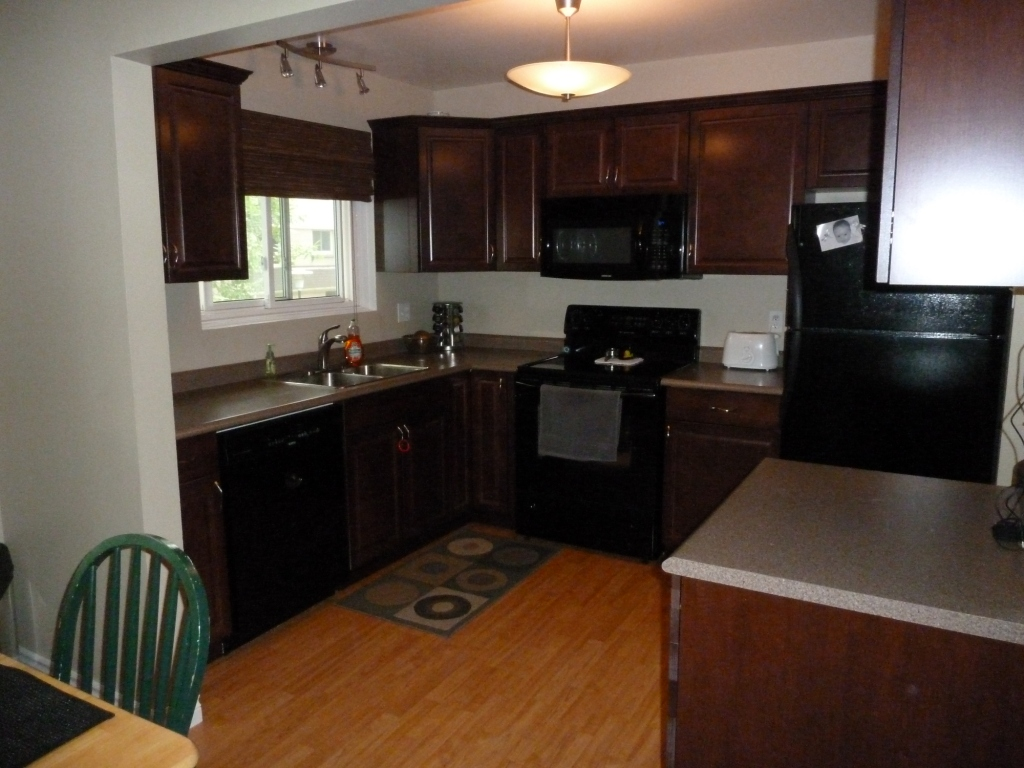 red kitchen cabinets with black appliances kitchen black cabinets kitchen