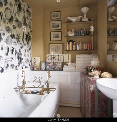 Bathroom Black White Tiles Stock Photos & Bathroom Black White Tiles Stock Images - Alamy