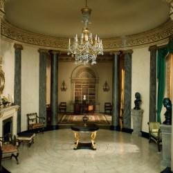 E 13 English Rotunda and Library of the Regency Period 1810 20