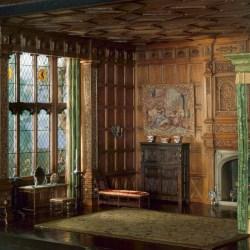 E 2 English Bedchamber of the Jacobean or Stuart Period 1603 88