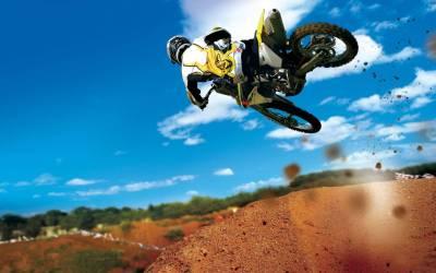 20 fonds d'écran et wallpapers de moto | La poignée dans l'angle