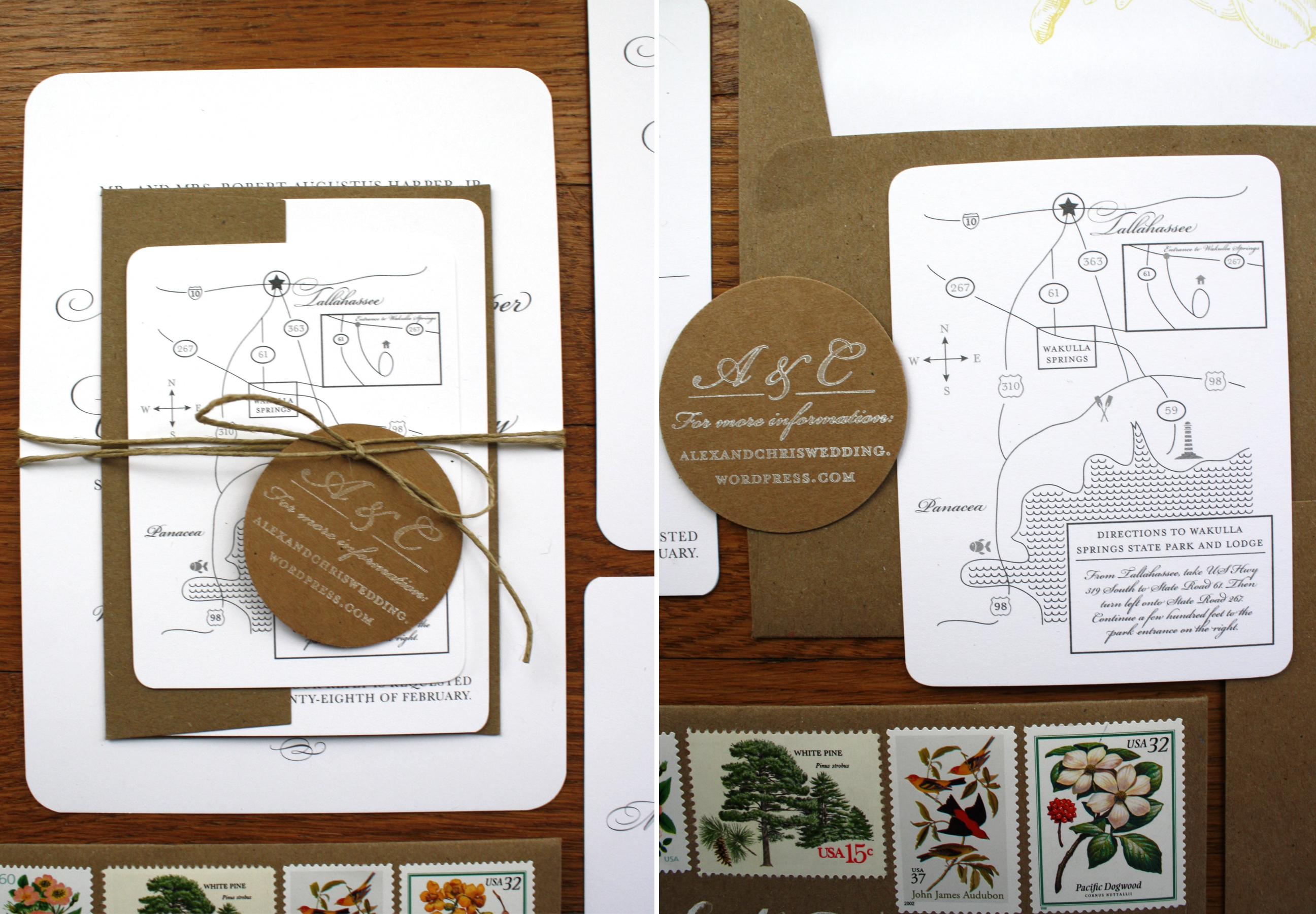 vintage stamps for wedding invitations wedding invitation stamps Alex Harper Blog Post Suite