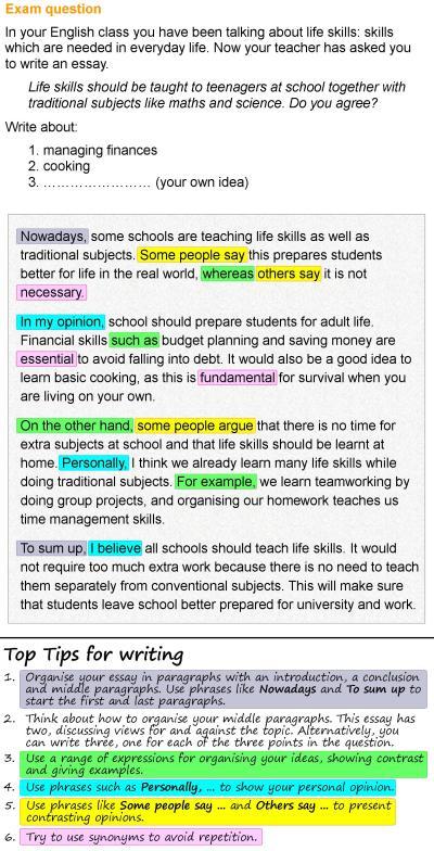 Life skills essay | LearnEnglish Teens - British Council