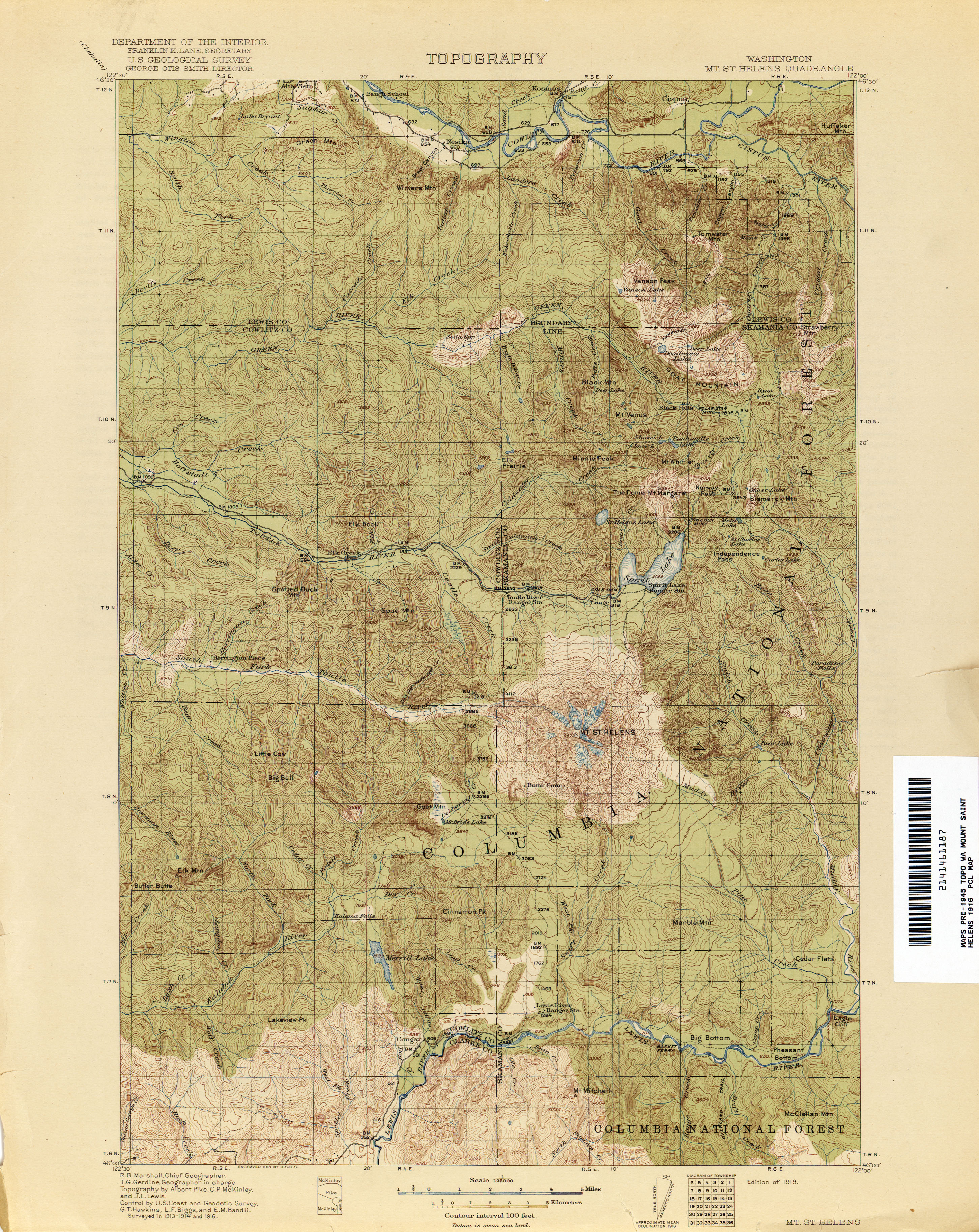 Washington Historical Topographic Maps   Perry Casta    eda Map     Washington Historical Topographic Maps