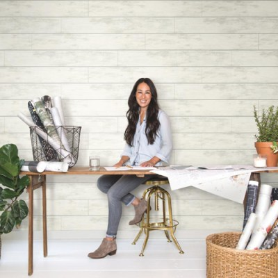 Joanna Gaines Shiplap Wallpaper from Magnolia Home by York