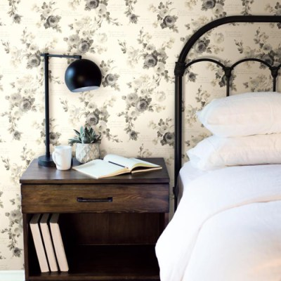 Joanna Gaines Heirloom Rose Wallpaper from Magnolia Home