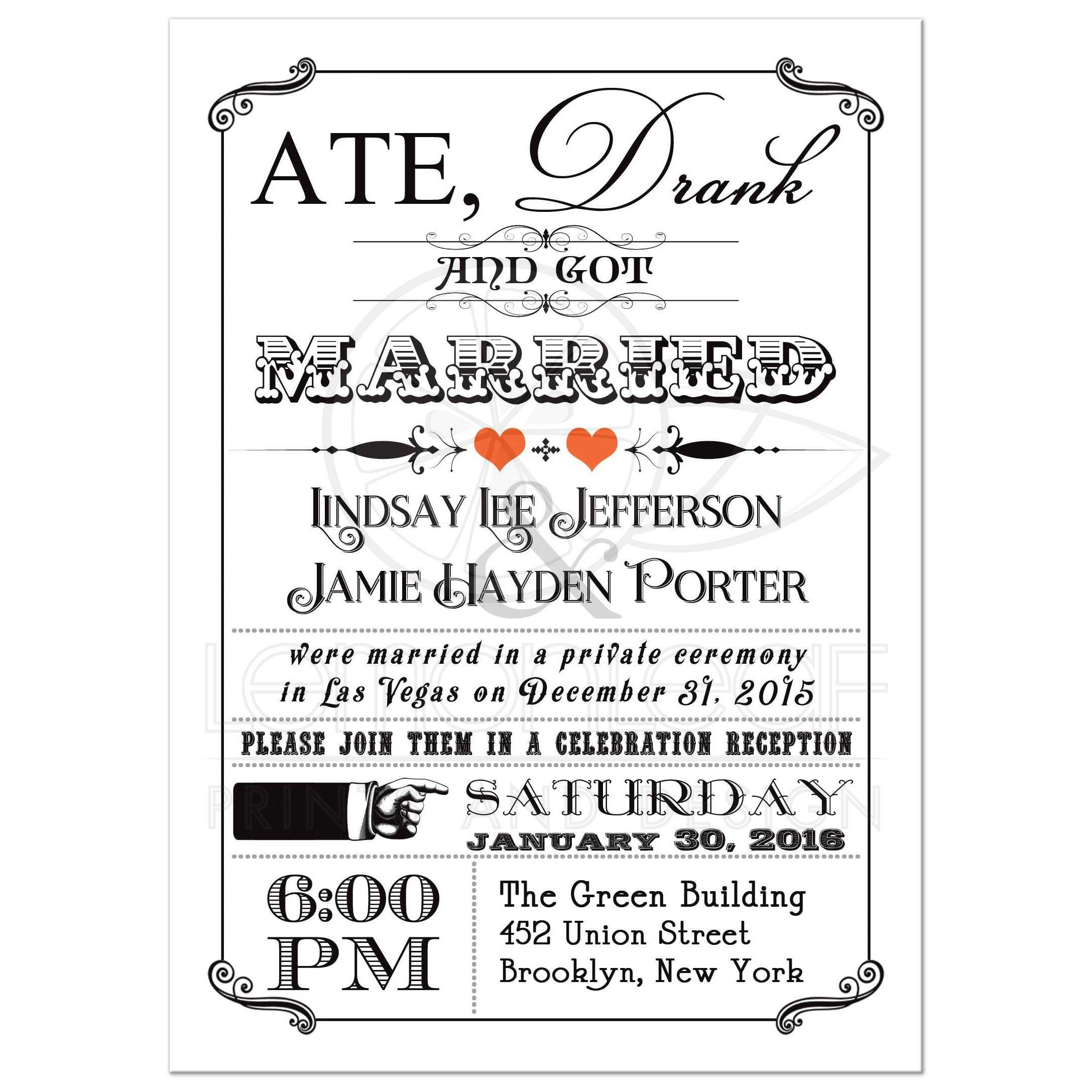post wedding reception only invitation wording post wedding reception invitations ideas invitation wording for wedding reception only