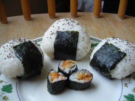 Fillings For Onigiri