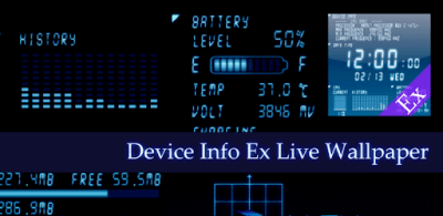 Device Info Ex Live Wallpaper - Apps on Google Play