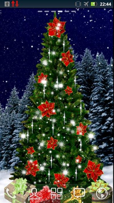 Christmas Tree Live Wallpaper – Android-Apps auf Google Play