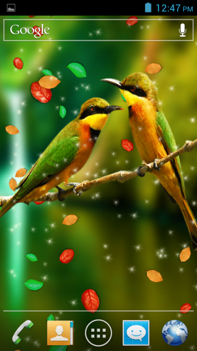 Birds 3D Live Wallpaper - Android Apps on Google Play