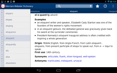 Dictionary - Merriam-Webster - Android Apps on Google Play