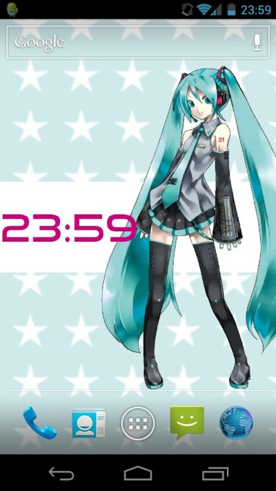 Hatsune Miku Live Wallpaper - Android Apps on Google Play