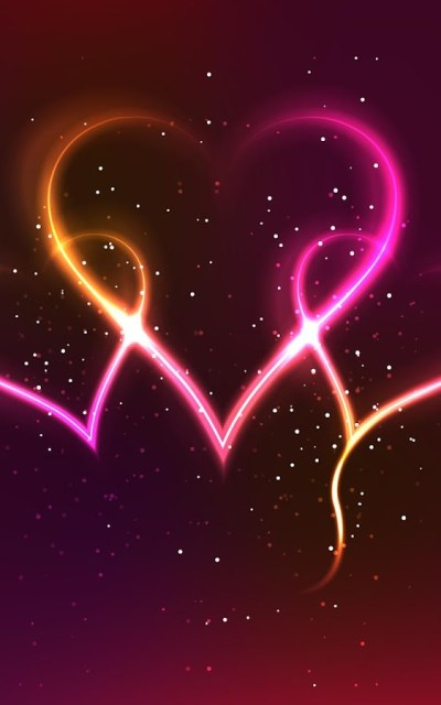 Neon Hearts Live Wallpaper - Android Apps on Google Play