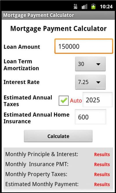 Simple Mortgage calculator - Android Apps on Google Play