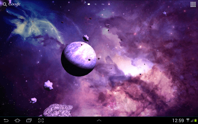 Asteroids 3D live wallpaper - Android Apps on Google Play
