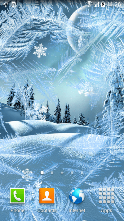 Winter Night Wallpaper - Android Apps on Google Play