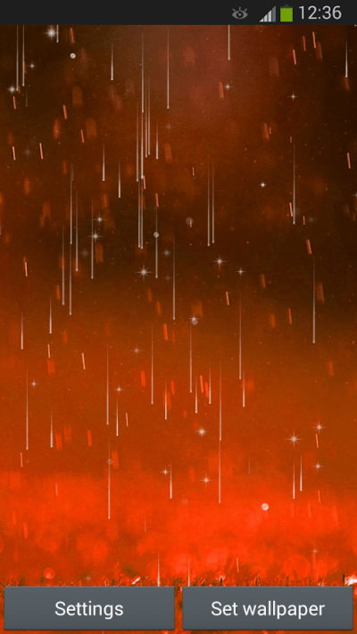 Rain Live Wallpaper - Android Apps on Google Play