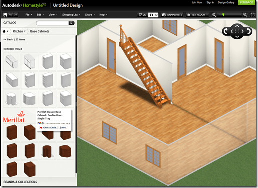 CAD Clues: The New Autodesk Homestyler