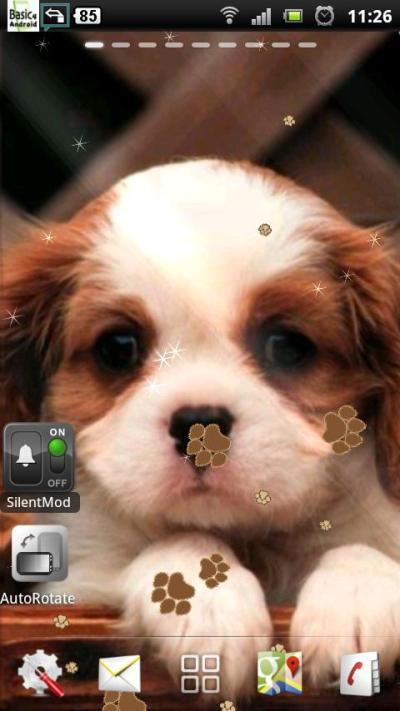 puppy dog live wallpaper - Android Apps on Google Play