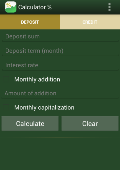 Loan deposit calculator - Android Apps on Google Play