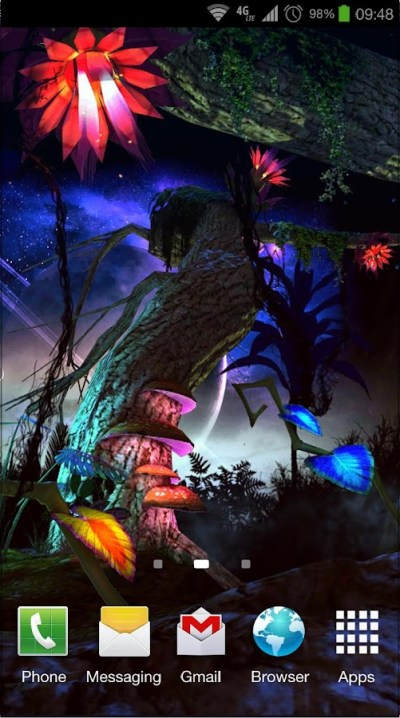 Alien Jungle 3D Live Wallpaper - Android Apps on Google Play