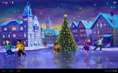 Christmas Rink Live Wallpaper - Android Apps on Google Play