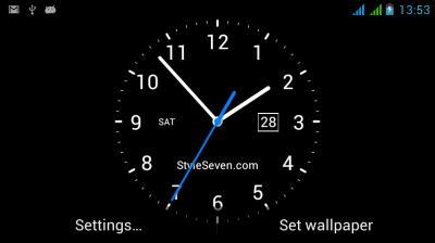 Analog Clock Live Wallpaper-7 - Google Play の Android アプリ