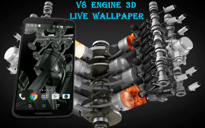 V8 Engine 3D Live Wallpaper - Android Apps on Google Play