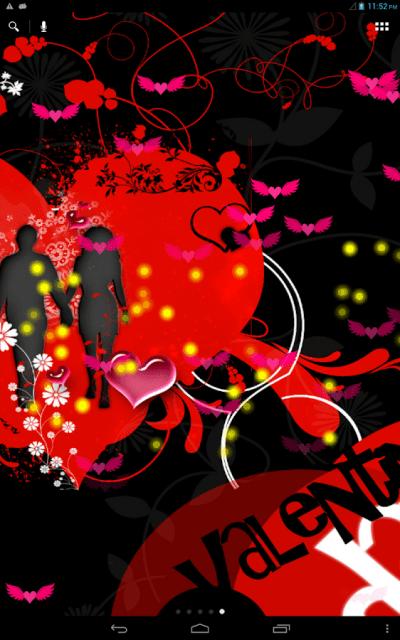 Valentine Love Live Wallpaper Free – Android-sovellukset Google Playssa