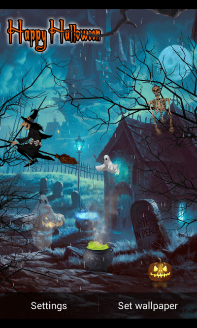Halloween Live Wallpaper 2015 - Android Apps on Google Play