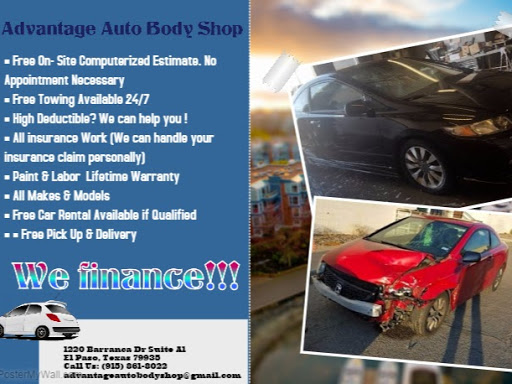Advantage Auto Body Shop   Auto Body Shop in El Paso
