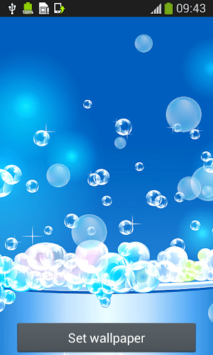 Download Bubbles Live Wallpapers for PC