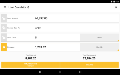 Loan Calculator IQ - Android Apps on Google Play