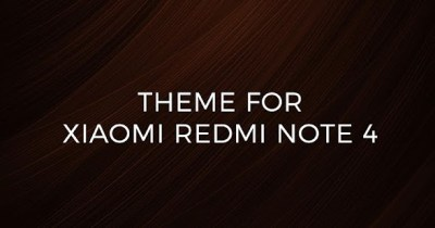 Theme For Xiaomi Redmi Note 4 - Android Apps on Google Play