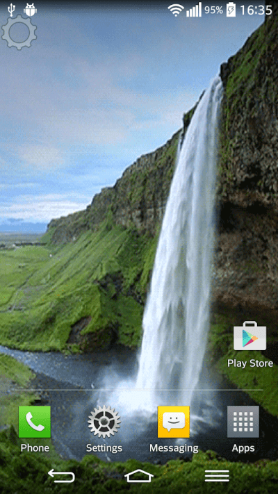 Waterfall Sound Live Wallpaper - Android Apps on Google Play