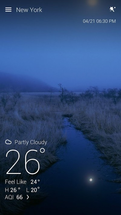 Download Live Wallpaper - GO Weather for PC - choilieng.com