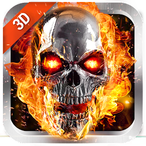 Flaming Skull Live Wallpaper for Free - Android Apps on ...
